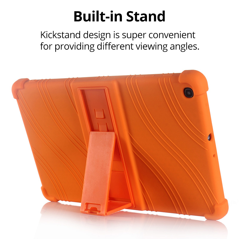 Case for Samsung Galaxy Tab A 10.1 2019 T510 S6 Lite 10.4 P610 8.0 T290 S5E 10.5 T720 Kids Case Stand Silicone Shockproof Cover-2