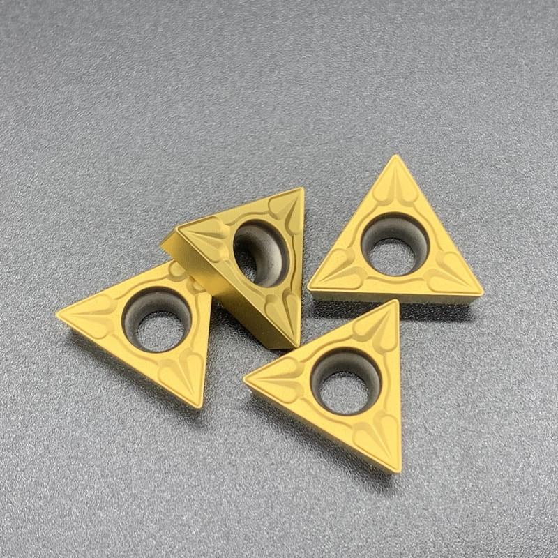 Купить с кэшбэком 10PCS TCMT16T304 MA VP15TF UE6020 US735 carbide Insert turning tool Internal Turning Tool Cutting CNC inserts Lathe cutter tools