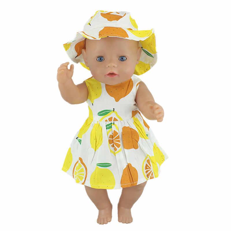 Ropa de vestir nueva a la moda para muñeca de bebé de 43cm Zapf, ropa y accesorios para bebés de 17 pulgadas