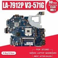 LA 7912P motherboard fit for ACER Aspire E1 571G V3 571G V3 571 motherboard Q5WVH LA 7912P HM77 PGA989 Test original