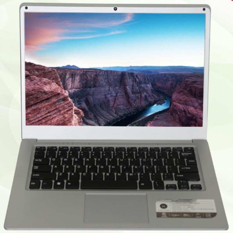 Office Laptop Computer With Intel Atom X5-Z8350 1.44Ghz Quad Core 4GB RAM & 64GB EMMC+SUPPORT TF 5Hours Lasting 8000mAh Battery