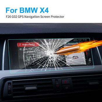 8.8 10.25 Inch TPU Car GPS Navigation Screen Protector HD Clear Touch Screen TPU Vinyl Film for BMW F26 G02 X4 Car Accessories image