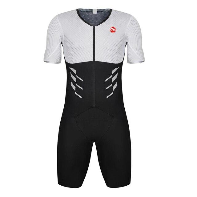 Camisa de triatlo para ciclismo masculina, roupas esportivas para corrida, natação, mtb, verão, 2020 1