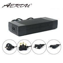 Aerdu 13s 48v li-ion bateria 54.6v 2a 110w carregador de alta potência ac para dc 110v-220v dc5521 xt60 xlr conector de carregamento mais rápido
