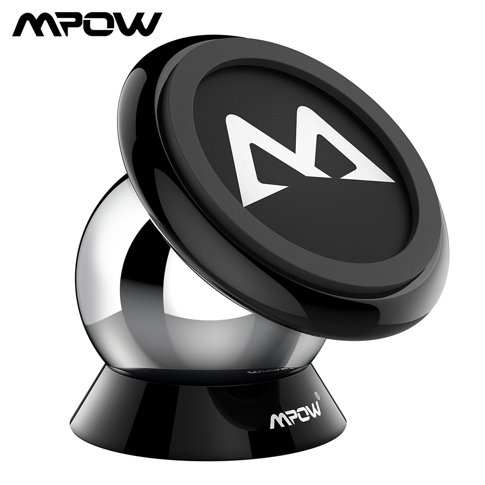 Mpow MCM18 Magnetic Car Phone Holder Universal Car Mount Holder Max Bearing Capacity 250g Phone Holder For iPhone X /8/7/6 Plus