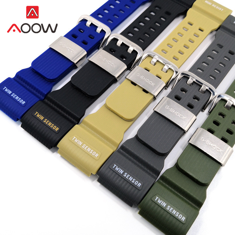 Men Sport Watch Band for Casio G-Shock GG-1000 / GWG-100 / GSG-100 Stainless Steel Rope Holder Bracelet Band Strap Accessories image