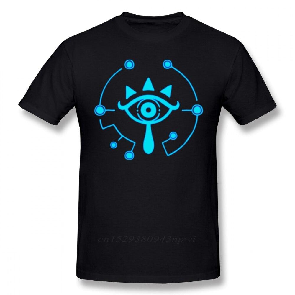 Camiseta de Zelda Breath Of The Wild, Camiseta con estampado de la leyenda de Zelda de Sheikah, camiseta divertida de Breath Of The Wild