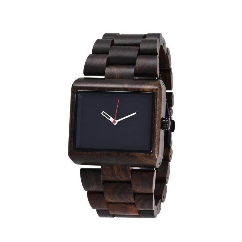 2020 New High-end Men's Ebony Watch Amazon Ebay International Hot Style Wooden Table A Undertakes