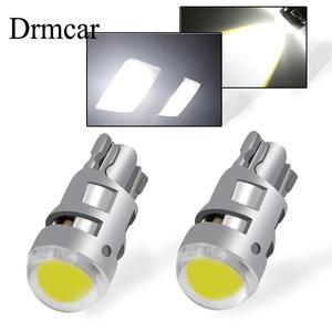 2X T10 светодиодная сигнальная лампа автомобильная лампа W5W 194 168 ствол светодиодные лампы для чтения интерьера зазор резервный обратный свети...