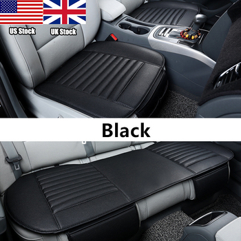 цена на Universal Auto Car Seat Covers Protector Pad Mat Breathable PU Leather Car Front Rear Back Seat Cover Auto Seat Cushion 4 Colors