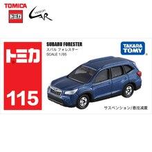 TAKATA TOMY TOMICA Diecast alaşım araba modeli çocuk oyuncak hediyeler araçlar 115 Subaru Forester SUV koleksiyon