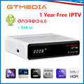GTmedia GTS Android tv Box Smart tv IP tv 4K H.265 HDR четырехъядерный 2G 8G wifi Google Cast IP tv Испания m3u телеприставка медиаплеер