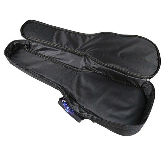 Beautiful quality ukulele bag padded case backpack 23 24 concert uke 26 inches tenor uku soft gig cover double  should strap
