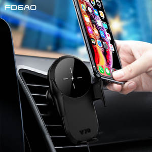 FDGAO Wireless-Charger Air-Vent-Mount-Holder Xiaomi iPhone 11 For Samsung 10 15W Car