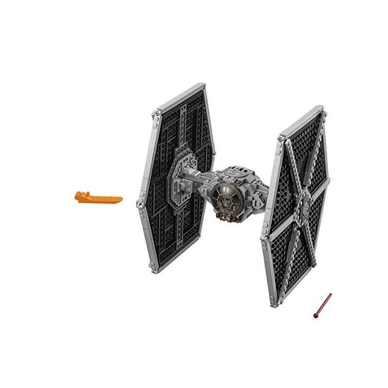 Image 3 - StarWars Imperial TIE Fighter Costruzioni Models & Building Blocks Toys for Children With Star Wars 10900 75211-in Blocks from Toys & Hobbies