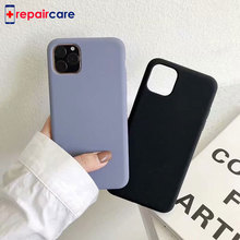 Sealed Liquid silicone Phone Case For iPhone 11, 11 Pro PRO Max 6.5 inch Back Coque Cover