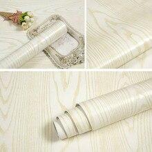 Papel tapiz de vinilo de madera resistente al agua, pegatina decorativa autoadhesiva gruesa para puertas de papel de contacto, armario, escritorio, muebles modernos