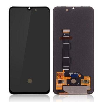 سوبر AMOLED LCD ل شياو Mi Mi 9 SE Mi 9 SE شاشة الكريستال السائل مجموعة المحولات الرقمية لشاشة تعمل بلمس + الإطار