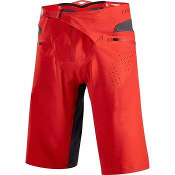 2019 pantalones cortos de bicicleta de montaña de zorro travieso demostración DH MTB Motocross Racing Shorts Off-road motocicleta ciclismo pantalones cortos MX