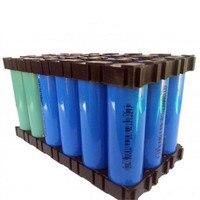 10 unids/pack 18650 batería de celda de Li-Ion soporte cilíndrico de seguridad Anti-vibración
