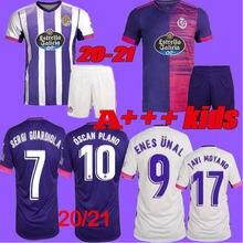 2020 2021 Real Valladolid soccer jersey 20 21 FEDE S. R. Alcaraz oo Sergi Guardiola Óscar Plano camisetas de fútbol kids Football SHIRTS