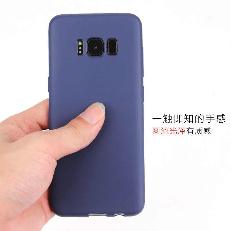 Yumuşak silikon Samsung kılıfı Galaxy A10 A20 A30 A50 A50S A30S arka kapak kılıfları Samsung 10 20 30 30S 50 2019 telefon kılıfı