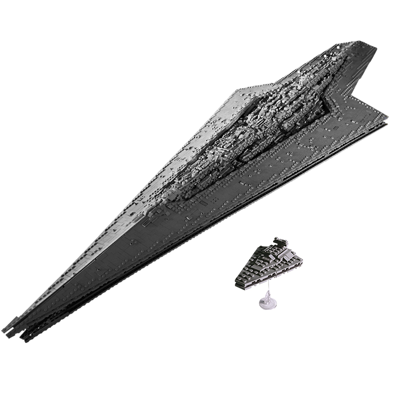 Star Toys Wars Bricks The LegoED 10221 UCS Executor Super Star Destroyer Set MOC-15881 Sets Building Blocks Kids Christmas Toys