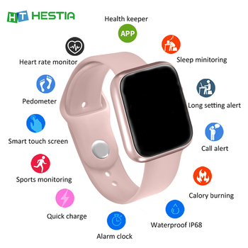 Women IP67 Waterproof Smart Watch P70 P68 Bluetooth 4.0 Smartwatch for Apple IPhone Xiaomi LG Heart