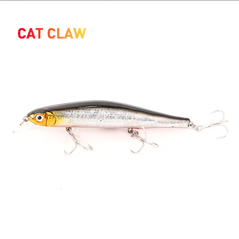CAT CLAW Lure 20g 125mm minnow crankbait bass lure Hard Bait Top Floating diving fishing ABS plastic material durable 202M