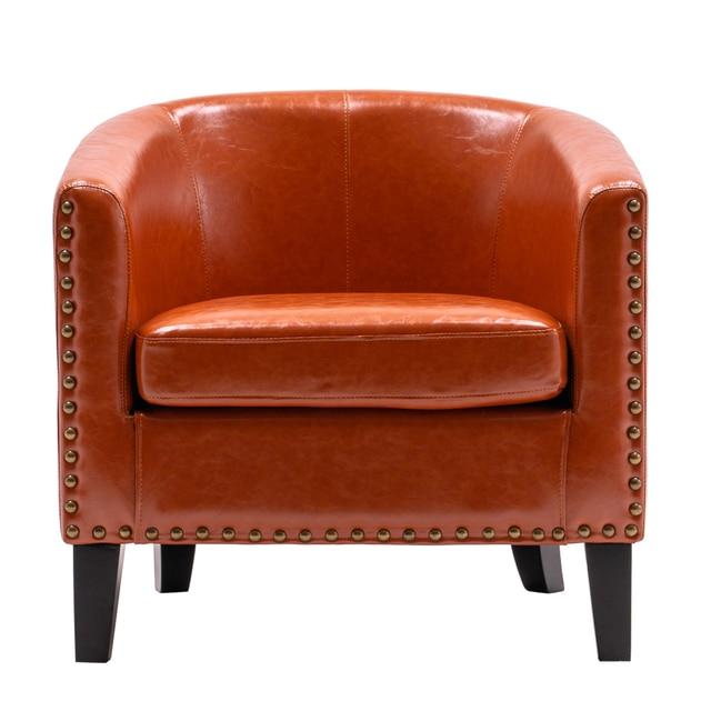 Circle Chair w/ Copper Nails 1