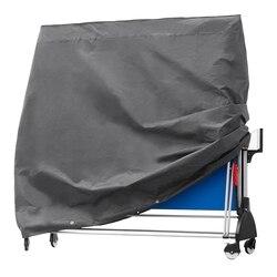 Trwały stół do tenisa stołowego ping pong wodoodporny ochronny oddychająca tkanina oxford ogrodowa narzuta 165x70x185Cm w Uniwersalne pokrowce od Dom i ogród na