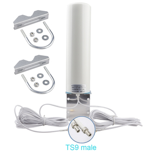 WiFi антенна CRC9 4G LTE антенна SMA 12dBi антенна 3G TS9 male 5m двойной кабель 2,4 ГГц для Huawei B315 E8372 E3372 ZTE Router