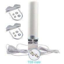 Antenne WiFi CRC9 4G LTE SMA 12dbi, double câble 2.4GHz, 3G TS9 mâle 5m, pour routeurs Huawei B315 E8372 E3372 ZTE