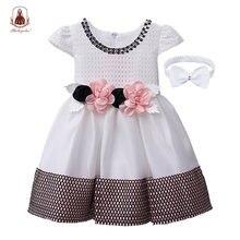 Yoliyolei/платье принцессы для новорожденных девочек; Праздничные