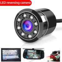 8 LED vista trasera de coche cámara de estacionamiento marcha atrás impermeable Shock-proofnight la visión de la cámara del coche accesorios de automóviles 2021 nuevo
