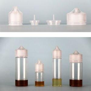 Image 4 - 50pcs 30ml/60ml/100ml/120ml PET פלסטיק טפטפת דואר נוזל העין ברור מים בקבוקי ארוך טיפ כובע מיץ שמן Vape עט בקבוק