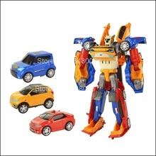 Робот-трансформер ТОБОТ 3 в 1, игрушки-трансформеры, экшн-фигурки, Набор детских моделей мультипликационных анимаций