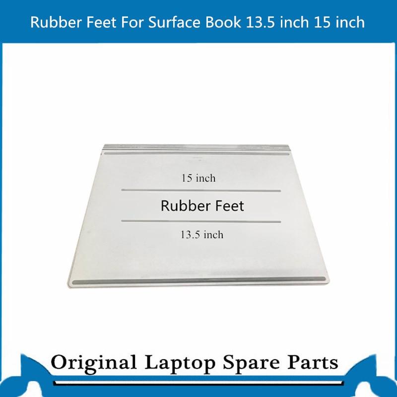 Pieds en caoutchouc 13.5 pouces, pour Surface de livre 1 livre 2 pieds en caoutchouc avec adhésif