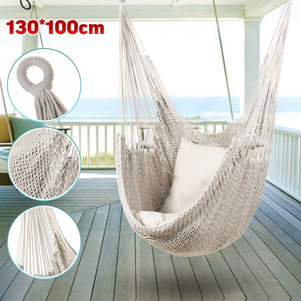 Hammock Chair Outdoor Indoor Garden Bedroom Furniture Outdoor Hanging Chair For Child Adult Safety Camping Swing Chair| | - AliExpress