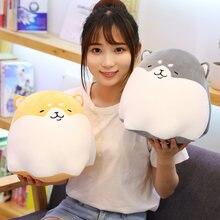 Симпатичные плюшевые детские игрушки подушка в виде собаки Шиба