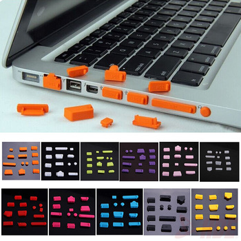 Uniwersalny elastyczny silikon przeciwpyłowy Port laptopa Protector pyłoszczelny komputer przenośny Port wtyczka osłona przeciwkurzowa tanie i dobre opinie elenxs Klawiatury laptopa Pyłoszczelna