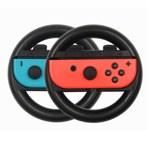 Image 3 - 2 PCS Switch Steering Wheel for Nintendo Game Handle Grip Controllers Direction Controller Joystick for Nintend Racing Games