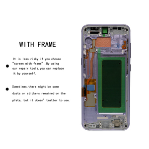Image 3 - 5.8 ORIGINAL S8 Display Screen for SAMSUNG Galaxy S8 Screen Replacement LCD Touch Digitizer Assembly G950F G950 with FRAME