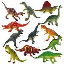 12 шт экшн Фигурка динозавра из коллекции