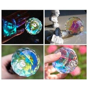Image 2 - 3 ב 1 Vlogger צילום קריסטל כדור אופטי זכוכית קסם תמונה כדור עם 1/4 זוהר אפקט דקורטיבי צילום סטודיו