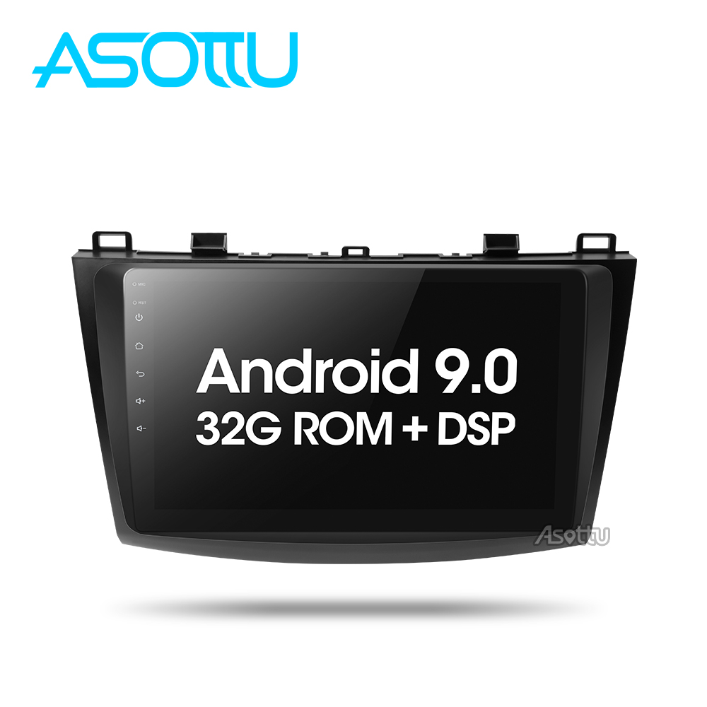 Asottu Android 9.0 car dvd for <font><b>Mazda</b></font> <font><b>3</b></font> 2 2009 2010 2011 2012 2013 car radio <font><b>gps</b></font> <font><b>navigation</b></font> with WIFI multimedia image