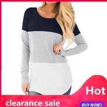Umstandard mother толстовка с длинными рукавами Повседневные топы Одежда для грудного вскармливания блузка Одежда для беременных