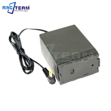Angled DC male  to VW VBG6 Battery for Panasonic D310 AG AC7 AG AF100 HDC HMC40 HMC70 HMC80 HMC150 HMC153 HMR10 HSC1U HDC DX1