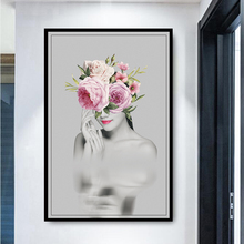 Wall Painting Posters and Prints Wall Art Canvas Paintings Art Makeup Fashion Girl Pictures for Living Room Home Decoration art and fashion