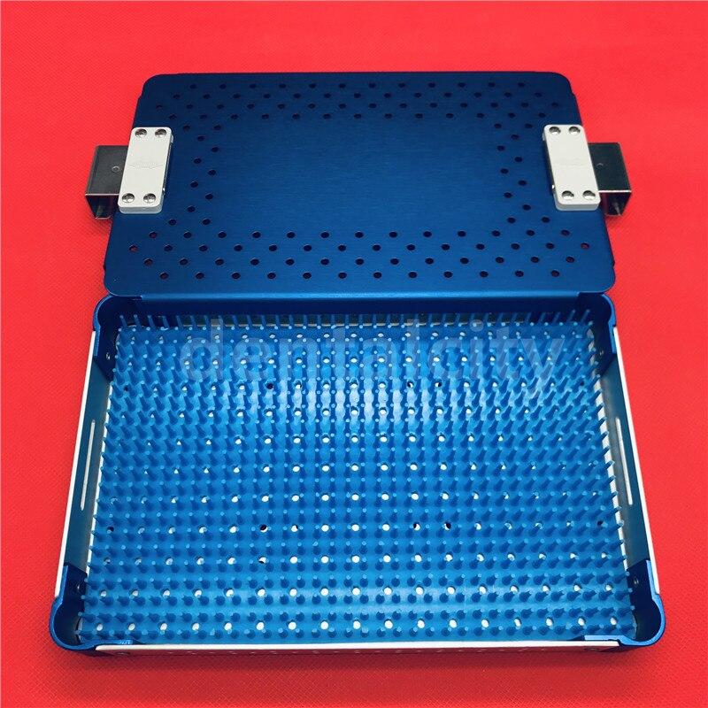 Alta calidad oftálmica instrumentos de microcirugía quirúrgico Autoclavable cirugía de desinfección de caja-in Kits de aseo from Belleza y salud    3